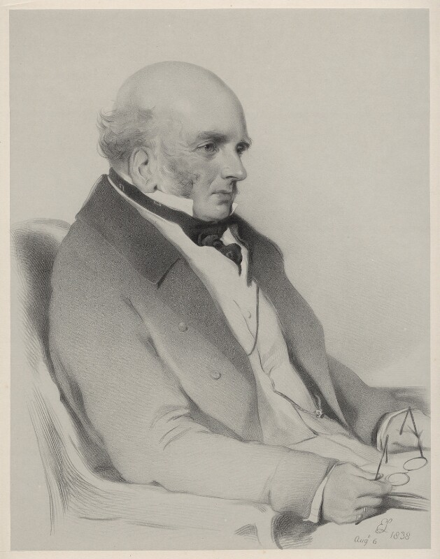 John Russell, 6th Duke of Bedford, by Richard James Lane, after  Sir Edwin Henry Landseer, 1852 (6 August 1838) - NPG D22172 - © National Portrait Gallery, London