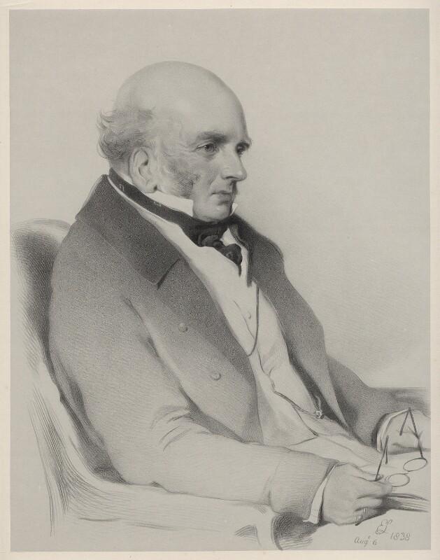 John Russell, 6th Duke of Bedford, by Richard James Lane, after  Sir Edwin Henry Landseer, 1852 (6 August 1838) - NPG D22172 - © National Portrait Gallery, London