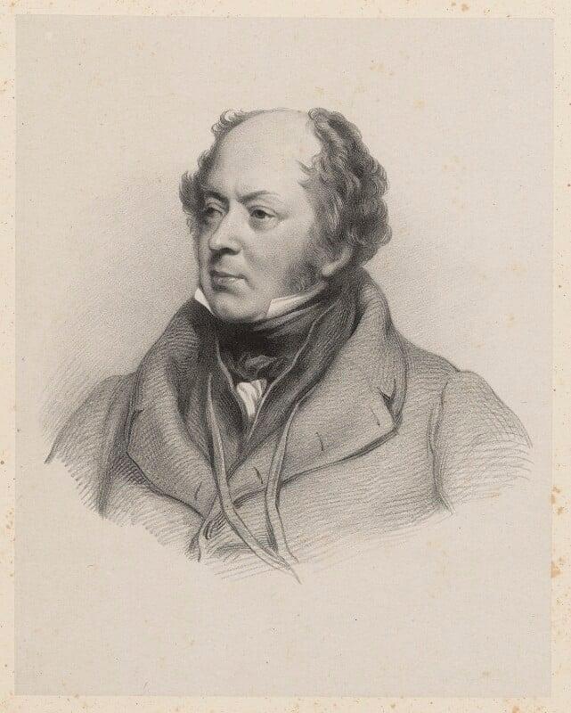 Sir Josiah John Guest, 1st Bt, by Richard James Lane, after  Jacob Thompson, 1839 - NPG D22221 - © National Portrait Gallery, London