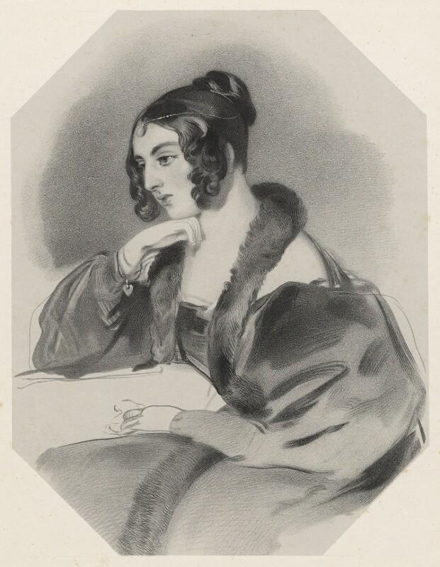 Corisande Emma Harris (née Bennet), Countess of Malmesbury, by Richard James Lane, after  Sir Edwin Henry Landseer, 1846 - NPG D22254 - © National Portrait Gallery, London