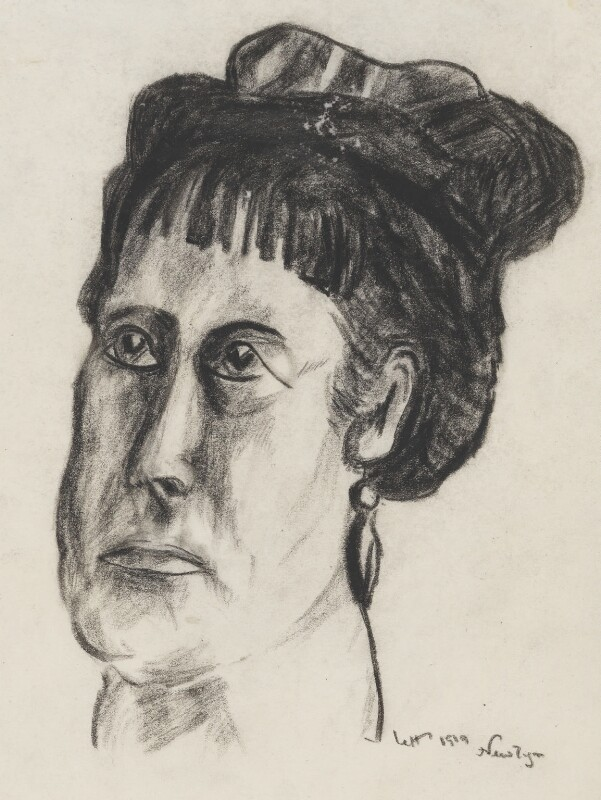 Frances Mary Hodgkins, by Arthur Lett-Haines, 1919 - NPG 6686 - © reserved; collection National Portrait Gallery, London