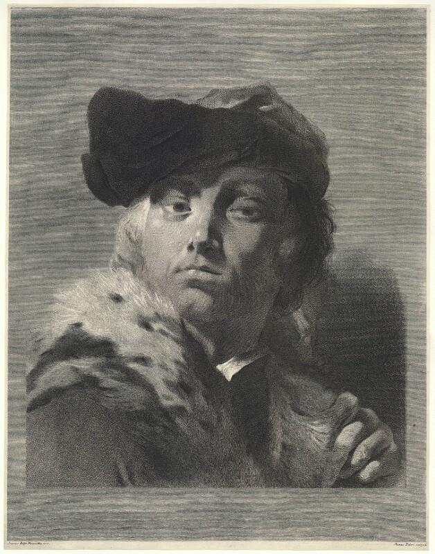 Giuseppe Nogari, by Marco Alvise Pitteri, after  Giovanni Battista Piazzetta, probably 1740s - NPG D22310 - © National Portrait Gallery, London