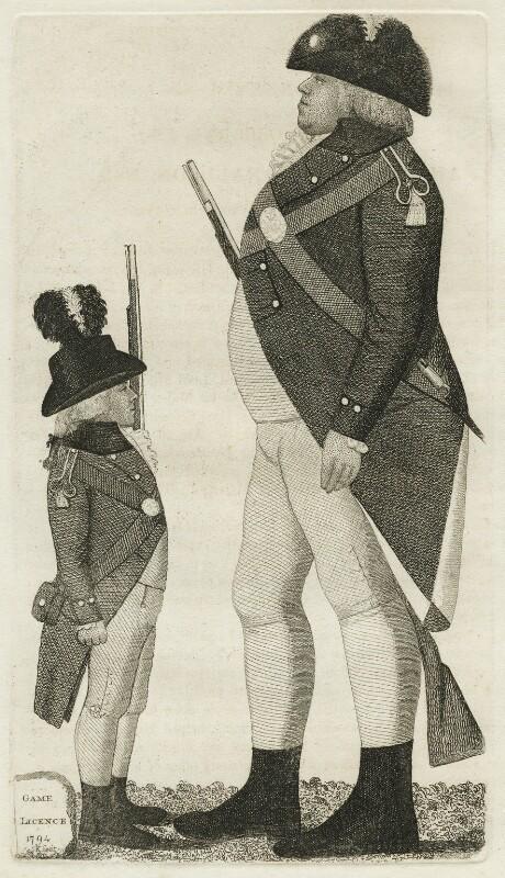 Francis Ronaldson; Alexander Osborne, by John Kay, 1794 - NPG D20500 - © National Portrait Gallery, London