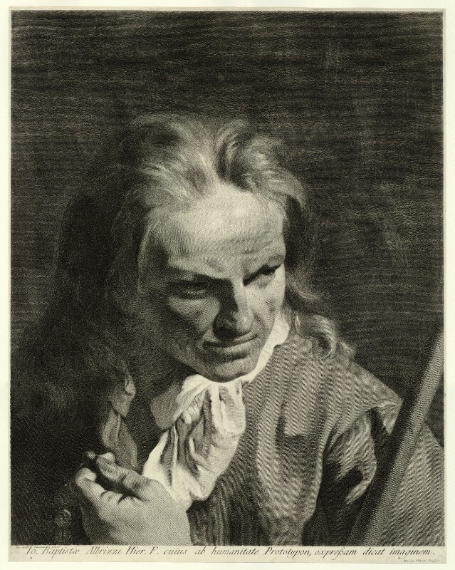 Giambattista Albrizzi, by Marco Alvise Pitteri, after  Giovanni Battista Piazzetta, probably 1740s - NPG D22313 - © National Portrait Gallery, London