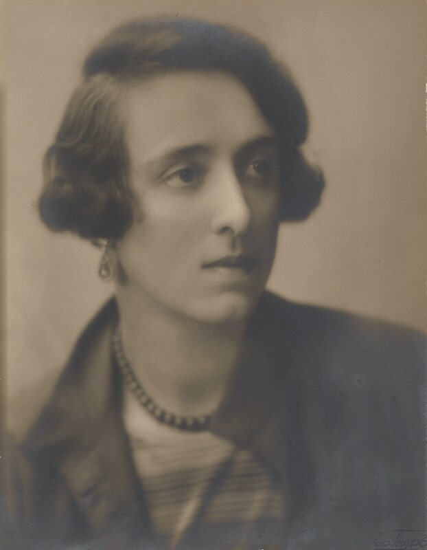 Vita Sackville-West, by Emil Otto ('E.O.') Hoppé, 28 February 1924 - NPG P1087 - © 2017 E.O. Hoppé Estate Collection / Curatorial Assistance Inc.