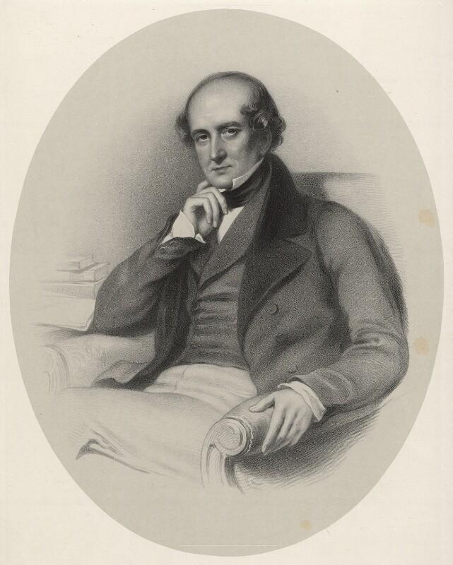 Sir William Clay, 1st Bt, by Richard James Lane, 1853 - NPG D22360 - © National Portrait Gallery, London