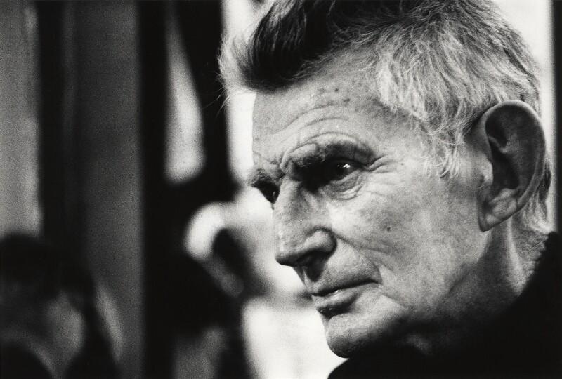 Samuel Beckett, by John Minihan, 1984 - NPG x28991 - © John Minihan / National Portrait Gallery, London