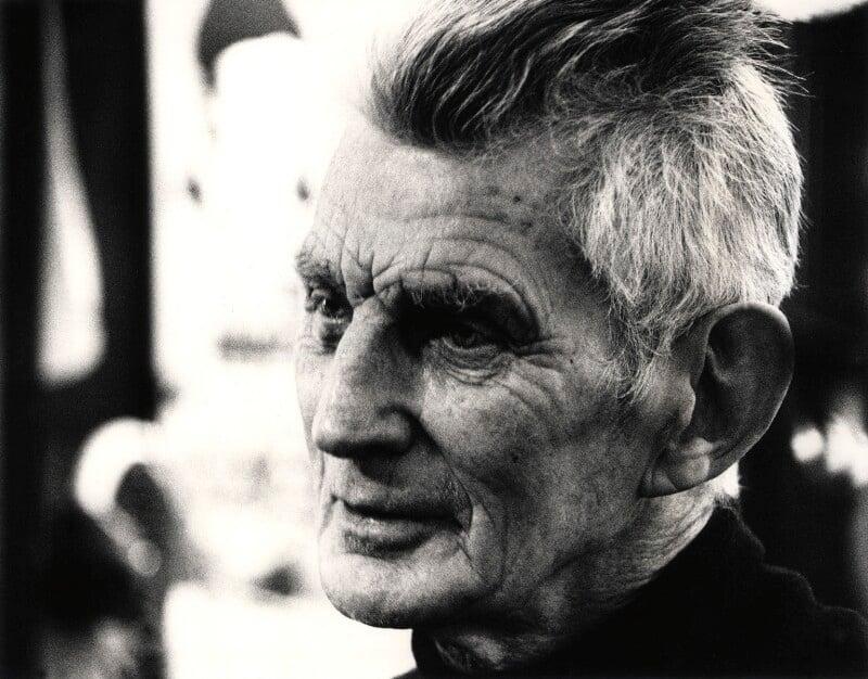 Samuel Beckett, by John Minihan, 1984 - NPG x28992 - © John Minihan / National Portrait Gallery, London