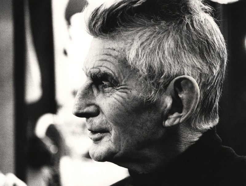 Samuel Beckett, by John Minihan, 1984 - NPG x28993 - © John Minihan / National Portrait Gallery, London