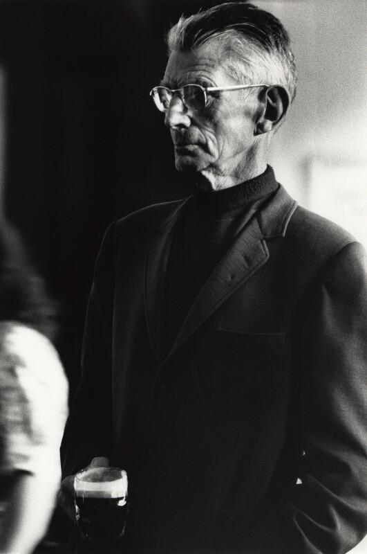 Samuel Beckett, by John Minihan, 1984 - NPG x28999 - © John Minihan / National Portrait Gallery, London