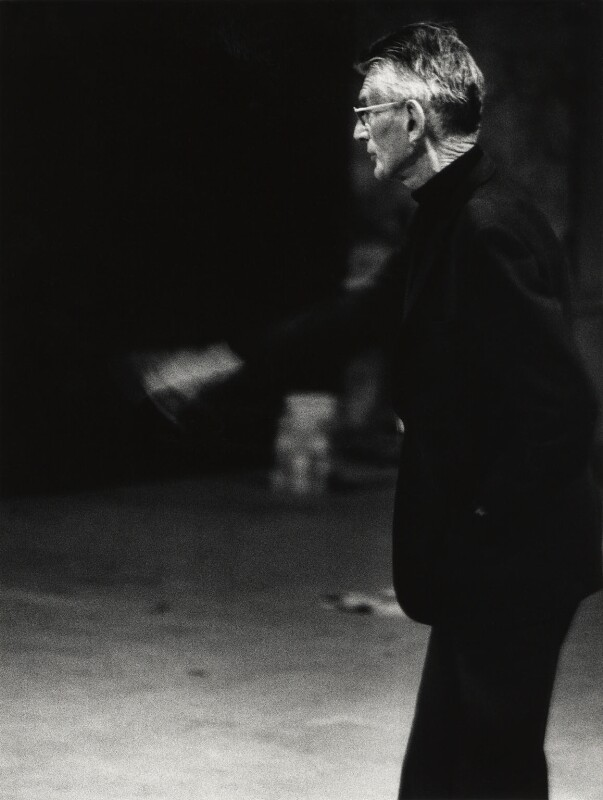 Samuel Beckett, by John Minihan, 1984 - NPG x29005 - © John Minihan / National Portrait Gallery, London