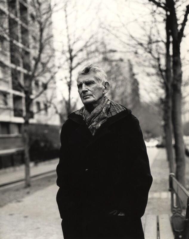 Samuel Beckett, by John Minihan, December 1985 - NPG x29007 - © John Minihan / National Portrait Gallery, London