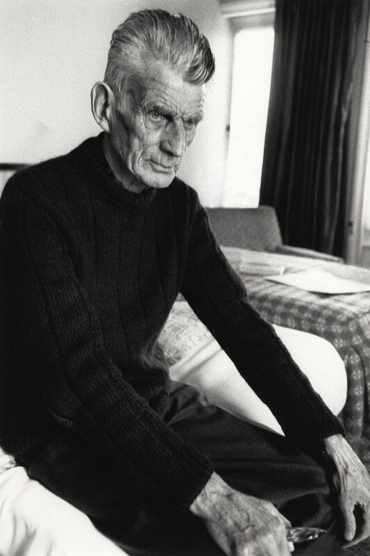 Samuel Beckett, by John Minihan, 1980 - NPG x32122 - © John Minihan / National Portrait Gallery, London