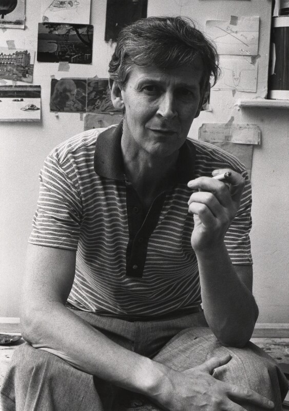 Michael James Andrews, by Harry Diamond, 1975 - NPG x4115 - © National Portrait Gallery, London