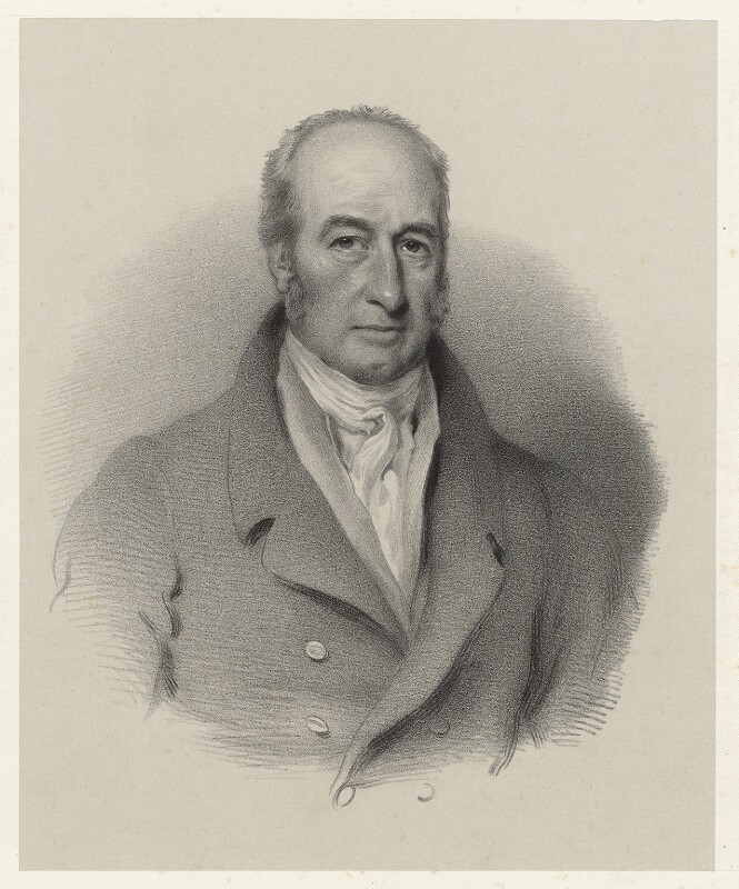 William Jex-Blake, by Richard James Lane, printed by  M & N Hanhart, after  George Clint, circa 1825-1850 - NPG D22427 - © National Portrait Gallery, London