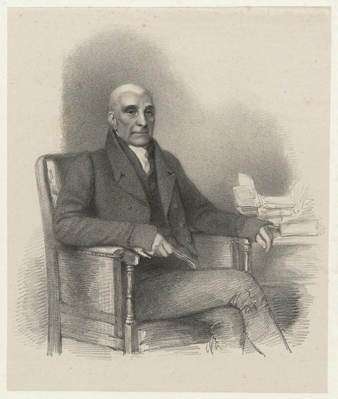 John Oldershaw, by Richard James Lane, circa 1825-1850 - NPG D22441 - © National Portrait Gallery, London