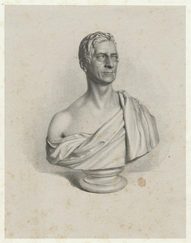 Thomas Denman, 1st Baron Denman, by Richard James Lane, after  Christopher Moore, circa 1830-1850 (1828) - NPG D22443 - © National Portrait Gallery, London