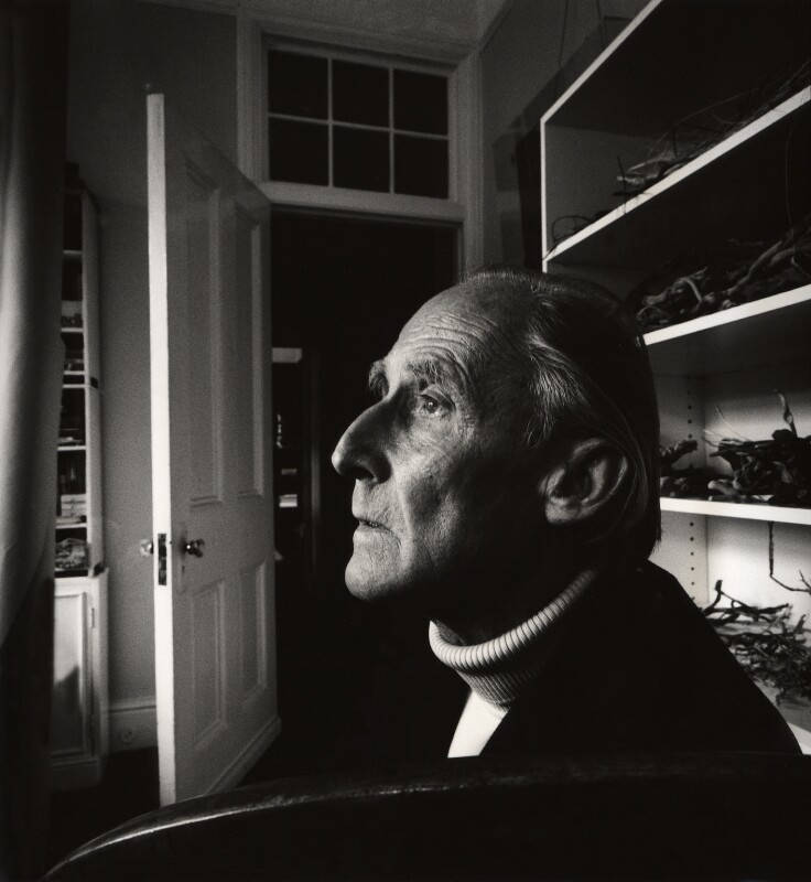 Bill Brandt, by Derry Moore, 12th Earl of Drogheda, 1974 - NPG x126966 - © Derry Moore