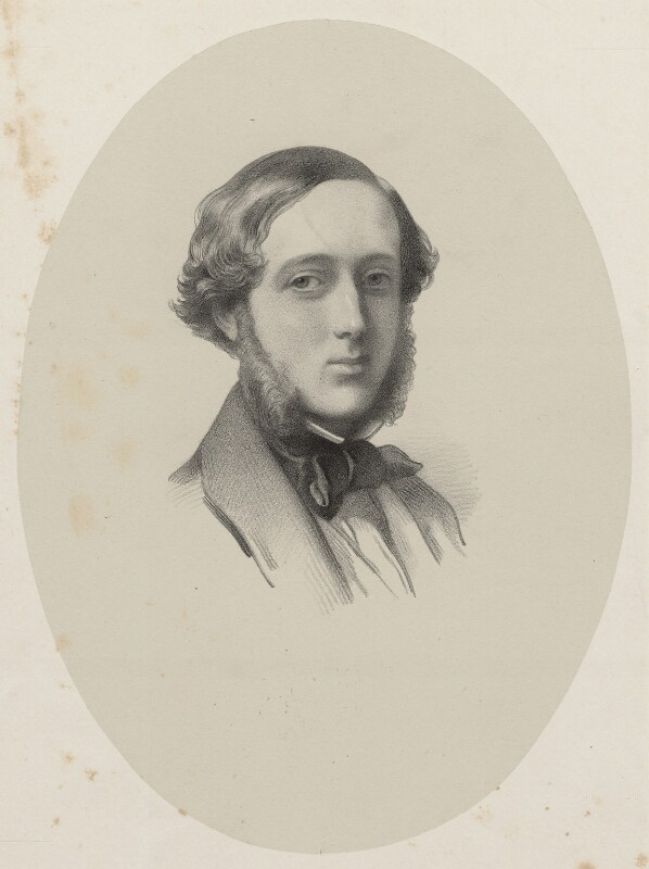 possibly Augustus Charles Lennox FitzRoy, 7th Duke of Grafton, by Richard James Lane, 1867 - NPG D22448 - © National Portrait Gallery, London