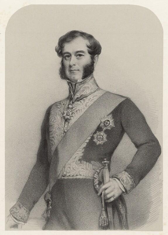 Richard Grenville, 2nd Duke of Buckingham and Chandos, by Richard James Lane, circa 1825-1850 - NPG D22454 - © National Portrait Gallery, London
