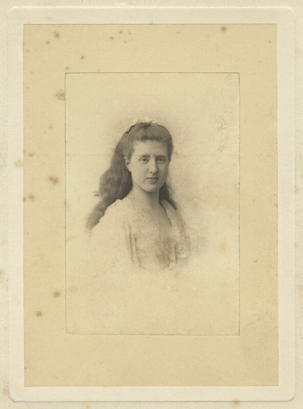 Lady Ottoline Morrell, by Unknown photographer, 1889 - NPG x144133 - © National Portrait Gallery, London