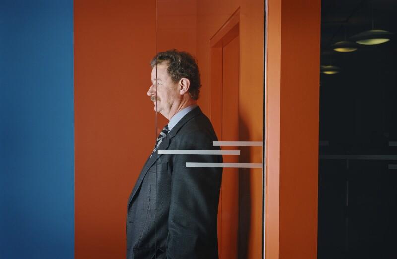 Sir Christopher John Frayling, by Harry Borden, 12 December 2001 - NPG x126989 - © Harry Borden