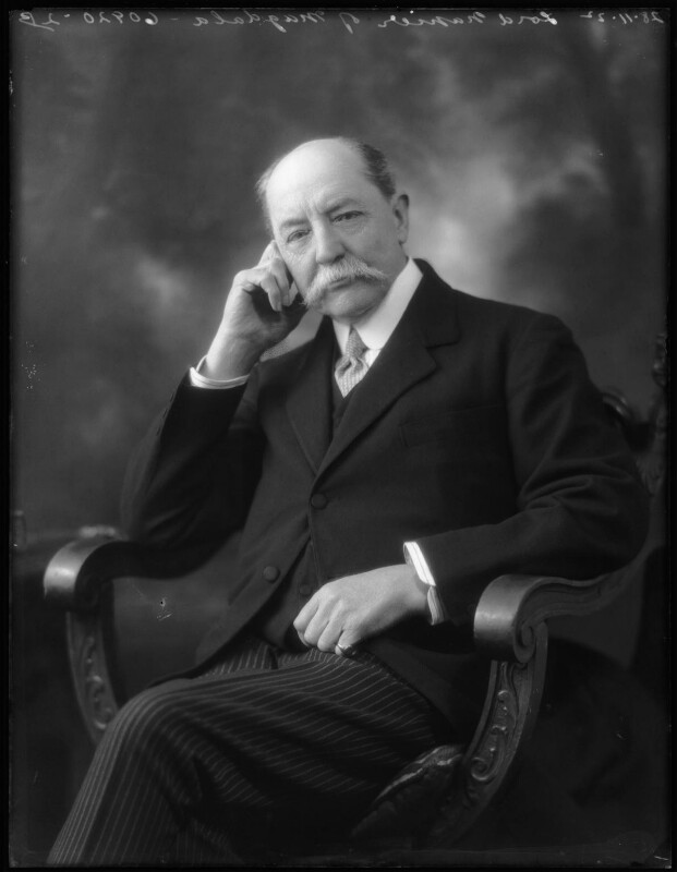 James Pearse Napier, 3rd Baron Napier of Magdala, by Bassano Ltd, 28 November 1922 - NPG x75320 - © National Portrait Gallery, London