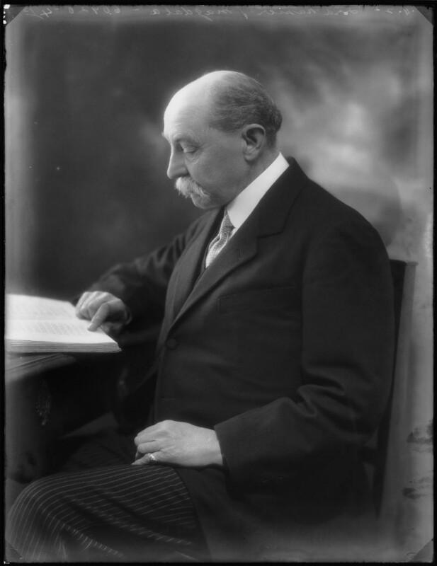 James Pearse Napier, 3rd Baron Napier of Magdala, by Bassano Ltd, 28 November 1922 - NPG x75322 - © National Portrait Gallery, London