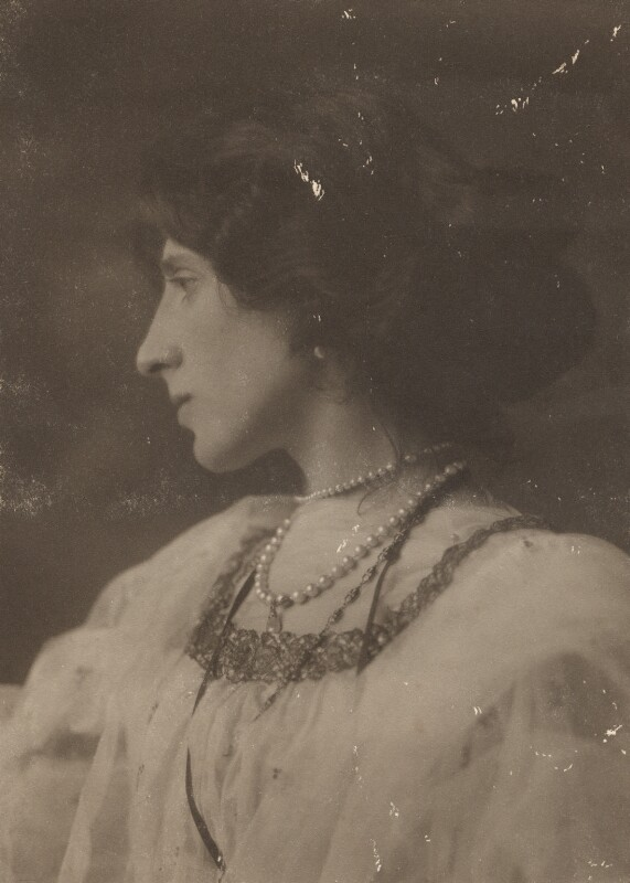 Lady Ottoline Morrell, by George Charles Beresford, 4 June 1903 - NPG x144141 - © National Portrait Gallery, London