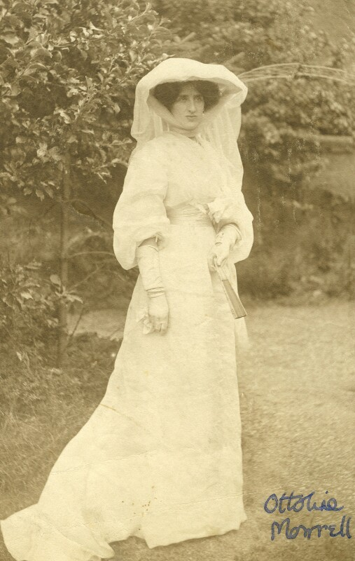 Lady Ottoline Morrell, by Unknown photographer, 1904 - NPG x144143 - © National Portrait Gallery, London