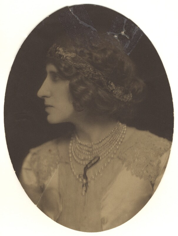 Lady Ottoline Morrell, by Lizzie Caswall Smith, 1904 - NPG x144145 - © National Portrait Gallery, London