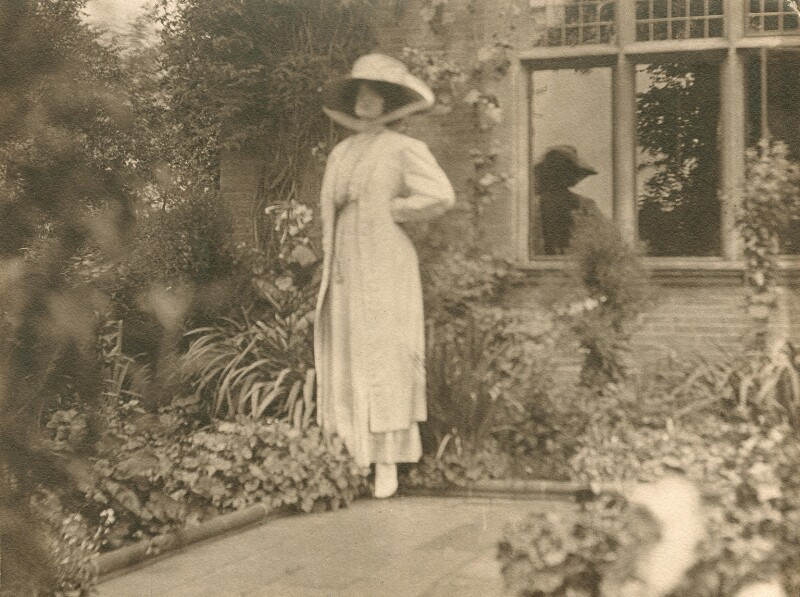 Lady Ottoline Morrell, by Unknown photographer, circa 1907 - NPG x144148 - © National Portrait Gallery, London