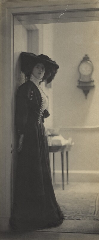 Lady Ottoline Morrell, by Cavendish Morton, circa 1907 - NPG x144151 - © National Portrait Gallery, London
