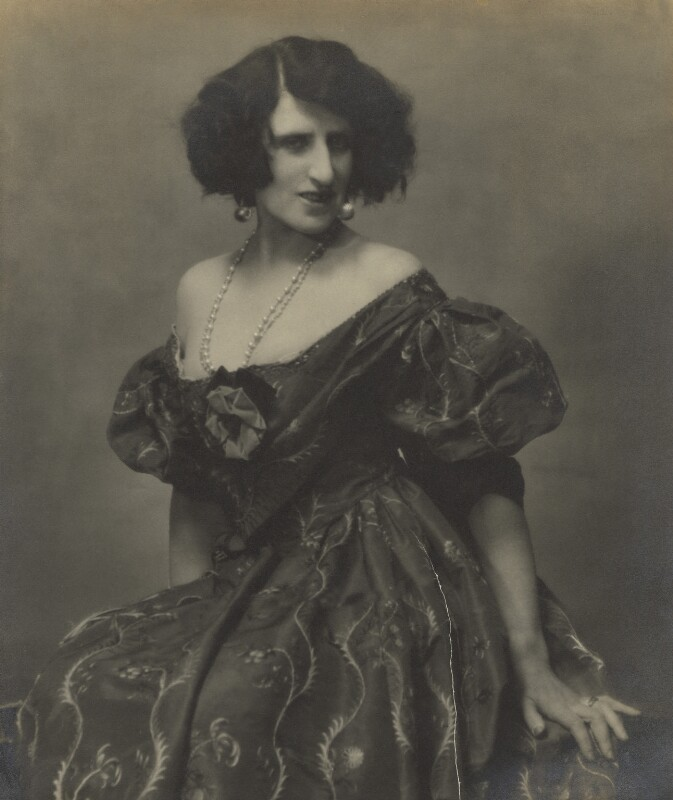 Lady Ottoline Morrell, by Maurice Beck and Helen Macgregor, 1927 - NPG x144153 - © reserved; collection National Portrait Gallery, London