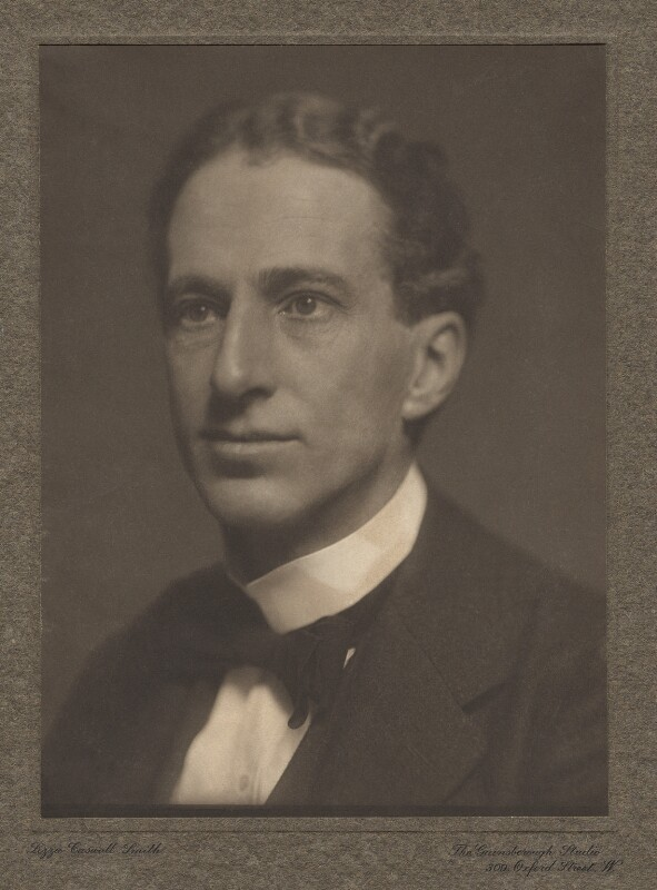 Philip Edward Morrell, by Lizzie Caswall Smith, circa 1912 - NPG x144157 - © National Portrait Gallery, London