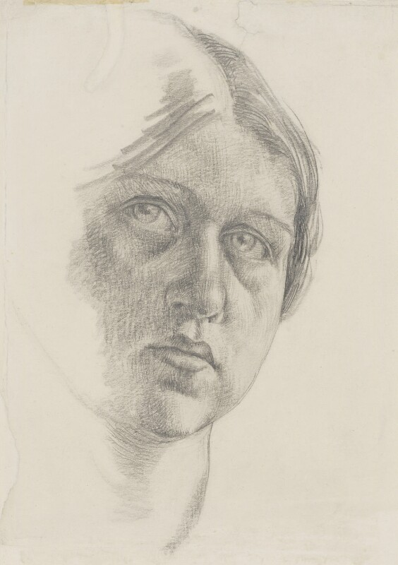 Dora Carrington, by Dora Carrington, circa 1910 - NPG 6736 - © National Portrait Gallery, London