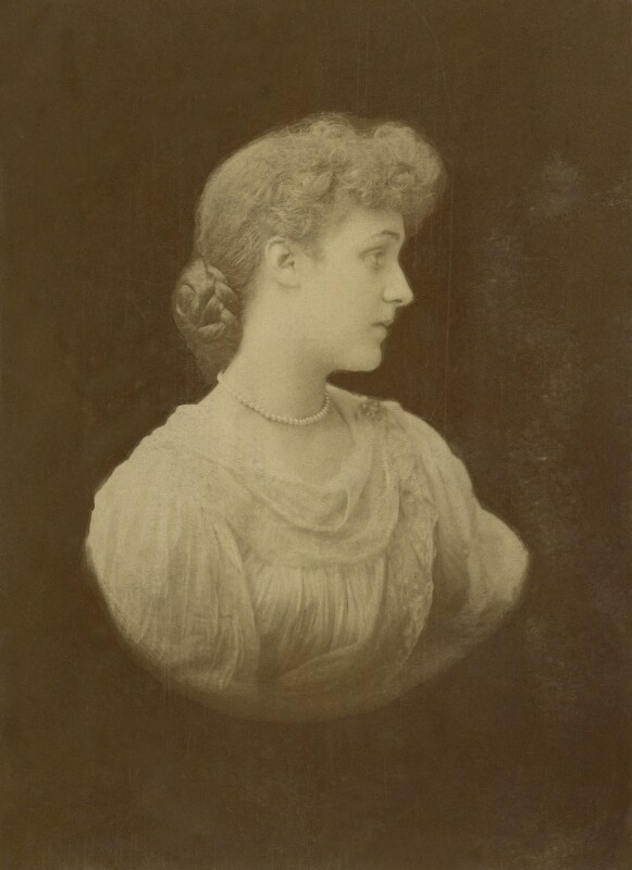 (Marion Margaret) Violet Manners (née Lindsay), Duchess of Rutland, by Michele Schemboche, circa 1892 - NPG x144187 - © National Portrait Gallery, London