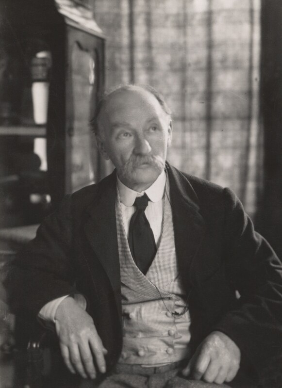 Thomas Hardy, by Clive Holland, 1900s - NPG x17357 - © National Portrait Gallery, London
