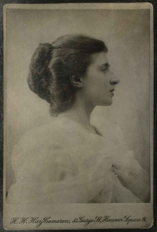 Lady Ottoline Morrell, by Henry Herschel Hay Cameron (later The Cameron Studio), 1900 - NPG Ax140002 - © National Portrait Gallery, London