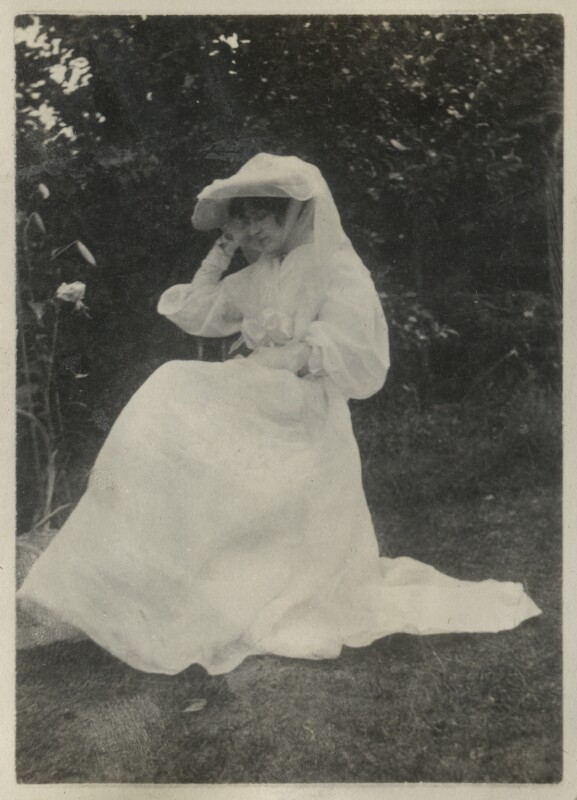 Lady Ottoline Morrell, after Unknown photographer, 1904 - NPG Ax140004 - © National Portrait Gallery, London