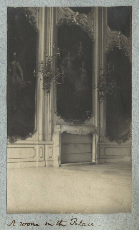 'A room in the Palace' (Hofburg, Innsbruck), by Lady Ottoline Morrell, August 1908 - NPG Ax140010 - © National Portrait Gallery, London