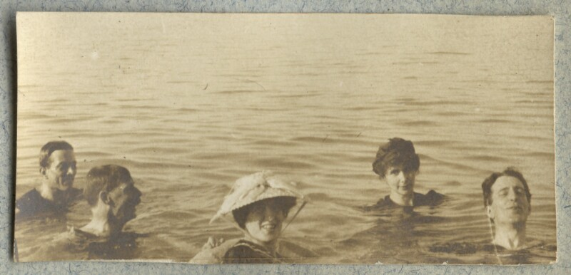 Lady Ottoline Morrell with friends, by Unknown photographer, August 1908 - NPG Ax140046 - © National Portrait Gallery, London