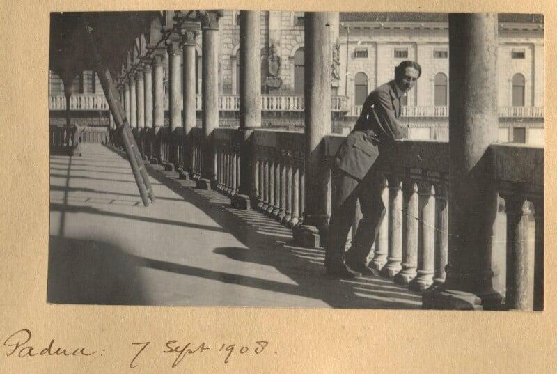 Philip Edward Morrell, by Lady Ottoline Morrell, 7 September 1908 - NPG Ax140058 - © National Portrait Gallery, London