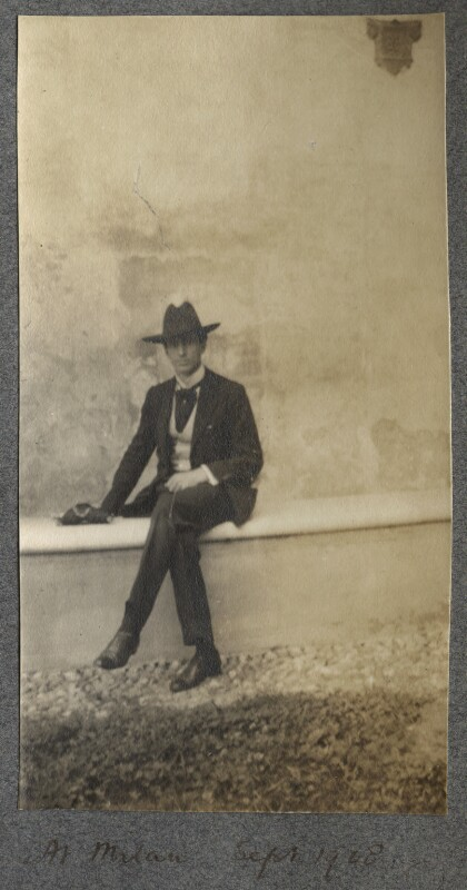 Philip Edward Morrell, by Lady Ottoline Morrell, September 1908 - NPG Ax140062 - © National Portrait Gallery, London