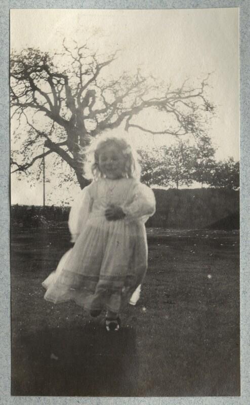 Julian Vinogradoff (née Morrell), by Lady Ottoline Morrell, October 1908 - NPG Ax140076 - © National Portrait Gallery, London