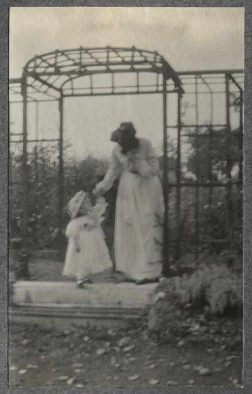 Julian Vinogradoff (née Morrell); Lady Ottoline Morrell, by Philip Edward Morrell, 1908 - NPG Ax140083 - © National Portrait Gallery, London