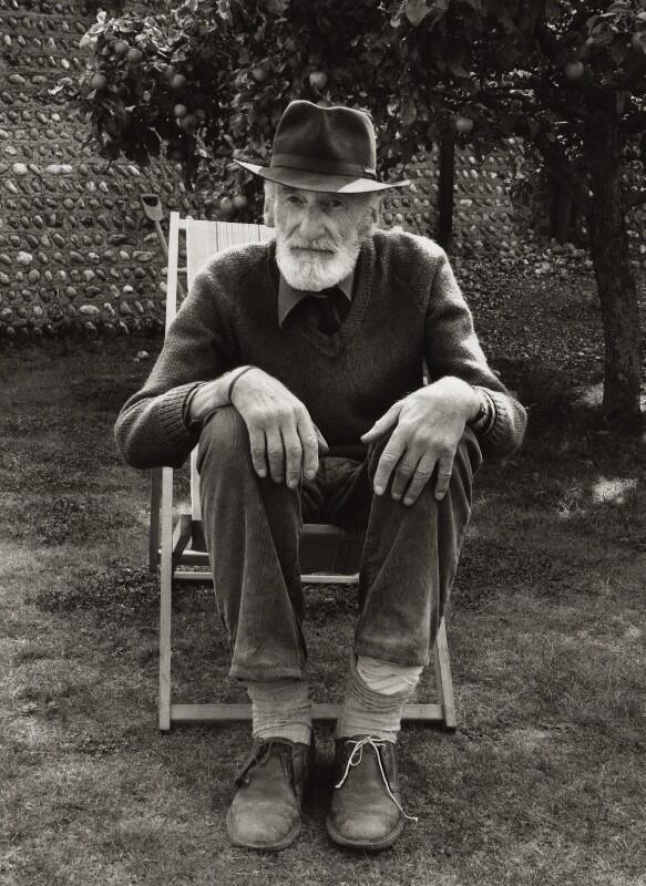 Edgar Hubert, by Lydia Ruth Maher, September 1981 - NPG x127030 - © Lydia Ruth Maher