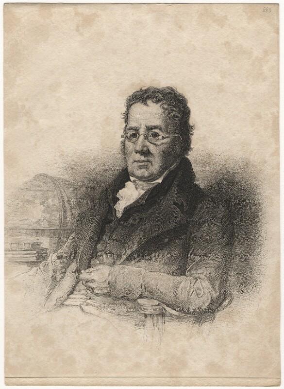John Playfair, by William Nicholson, 1819 - NPG D20556 - © National Portrait Gallery, London