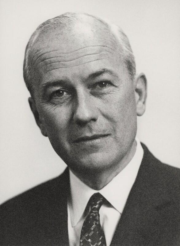 Sir Arthur Gordon Norman, by Godfrey Argent, 14 May 1970 - NPG x165690 - © National Portrait Gallery, London
