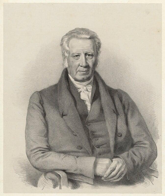 Robert Jarratt, by Richard James Lane, circa 1825-1850 - NPG D22432 - © National Portrait Gallery, London